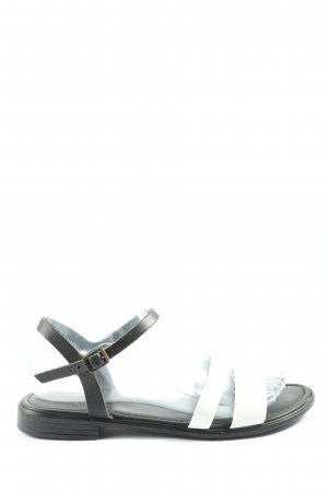 Esprit Sandalo comodo bianco-nero stile casual