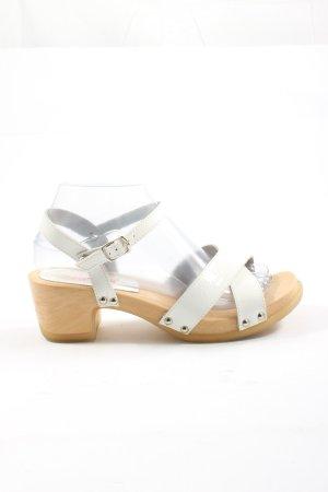 Esprit Comfortabele sandalen wit casual uitstraling