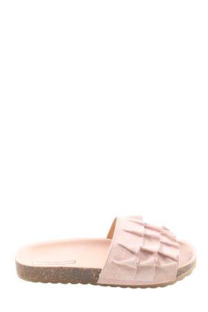 Esprit Komfort-Sandalen pink Casual-Look