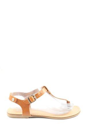 Esprit Sandalias cómodas marrón look casual