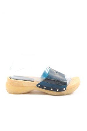 Esprit Sandalo comodo blu stile casual