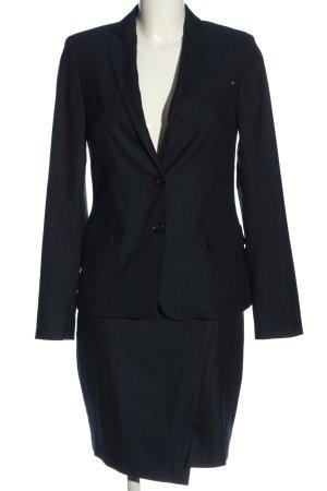 Esprit Tailleur noir-gris clair motif rayé style d'affaires