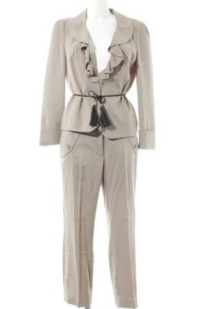 Esprit Kostüm graubraun Business-Look