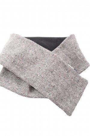 Esprit Cravate ascot gris clair Motif de tissage style d'affaires
