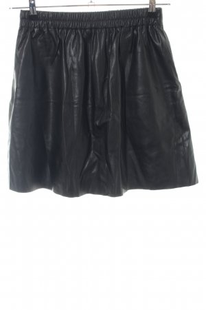 Esprit Rok van imitatieleder zwart extravagante stijl