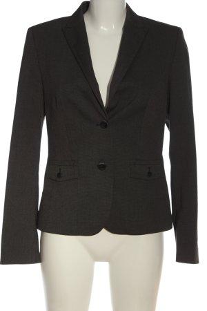 Esprit Kurz-Blazer schwarz-weiß Streifenmuster Casual-Look