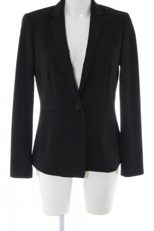 Esprit Kurz-Blazer schwarz Business-Look