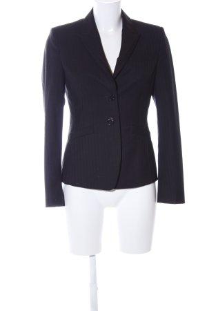 Esprit Korte blazer zwart gestreept patroon zakelijke stijl