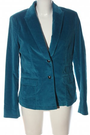 Esprit Kurz-Blazer blau Business-Look