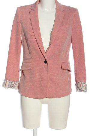 Esprit Kurz-Blazer pink meliert Business-Look