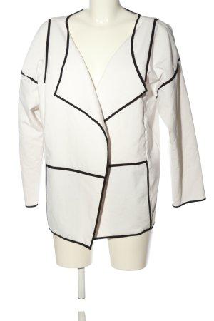 Esprit Kurz-Blazer weiß-schwarz Elegant