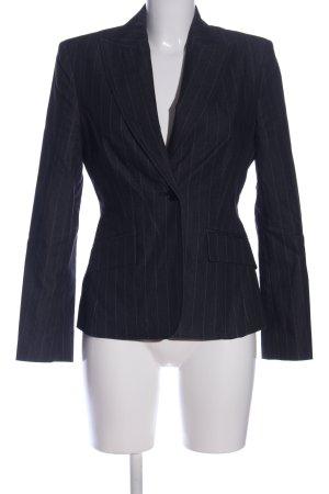 Esprit Kurz-Blazer weiß-blau Streifenmuster Business-Look