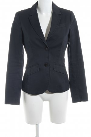 Esprit Kurz-Blazer dunkelblau Business-Look