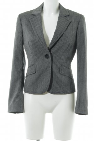 Esprit Kurz-Blazer grau Nadelstreifen Business-Look