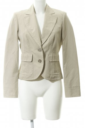Esprit Kurz-Blazer hellbeige Business-Look