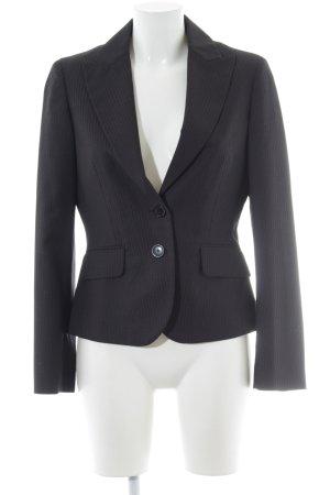 Esprit Kurz-Blazer schwarz-hellgrau Elegant