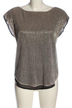Esprit Blouse à manches courtes motif rayé style décontracté