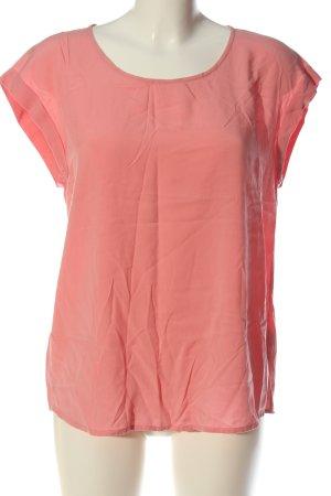 Esprit Kurzarm-Bluse pink Casual-Look