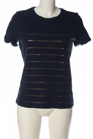 Esprit Kurzarm-Bluse blau Casual-Look
