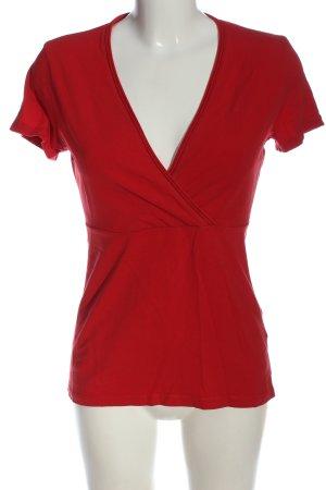 Esprit Camicetta a maniche corte rosso stile casual