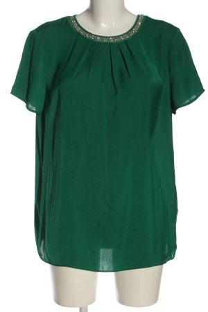 Esprit Blusa de manga corta verde elegante
