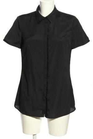 Esprit Bluzka z krótkim rękawem czarny W stylu biznesowym