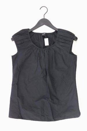 Esprit Kurzarmbluse Größe 34 schwarz