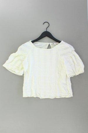 Esprit Short Sleeved Blouse natural white cotton