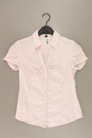 Esprit Short Sleeved Blouse dusky pink-pink-light pink-pink cotton