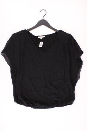 Esprit Kurzarmbluse Größe 40 schwarz aus Polyester