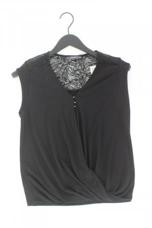 Esprit Kurzarmbluse Größe S schwarz aus Polyester