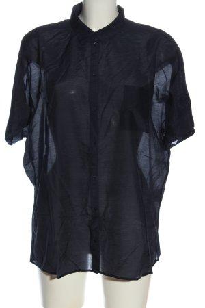 Esprit Shirt met korte mouwen blauw casual uitstraling