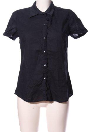 Esprit Kurzarmhemd schwarz Casual-Look