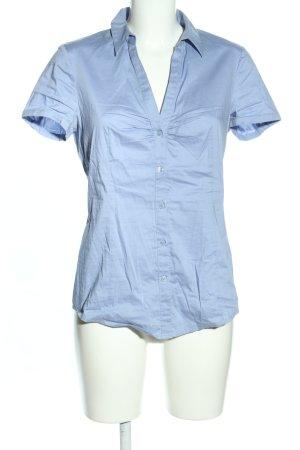 Esprit Kurzarmhemd blau Business-Look