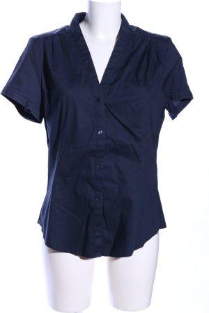 Esprit Camicia a maniche corte blu stile casual