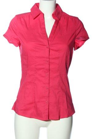 Esprit Kurzarmhemd pink Casual-Look