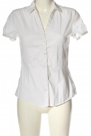 Esprit Camisa de manga corta blanco look casual