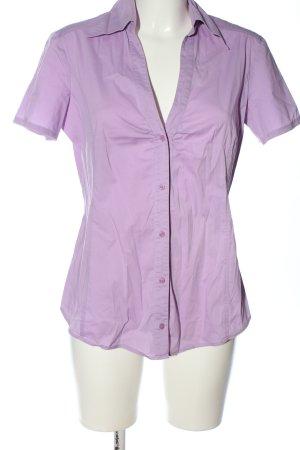 Esprit Shirt met korte mouwen roze zakelijke stijl