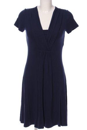 Esprit Kurzarmkleid blau Business-Look