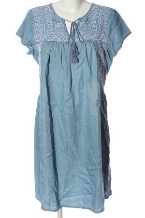 Esprit Kurzarmkleid blau Casual-Look