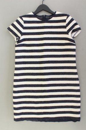 Esprit Kurzarmkleid Größe 38 gestreift blau aus Polyester