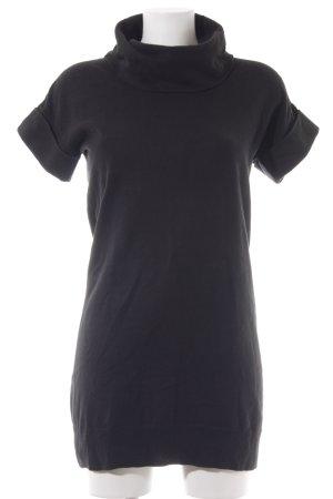 Esprit Sukienka z krótkim rękawem czarny W stylu casual