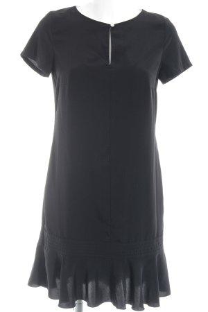Esprit Kurzarmkleid schwarz-weiß Business-Look