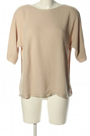 Esprit Sweter z krótkim rękawem kremowy W stylu casual
