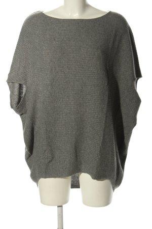 Esprit Sweter z krótkim rękawem jasnoszary Melanżowy W stylu casual