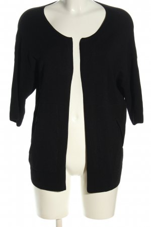 Esprit Short Sleeve Knitted Jacket black casual look