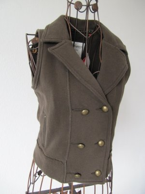 edc by Esprit Sweat Jacket brown cotton