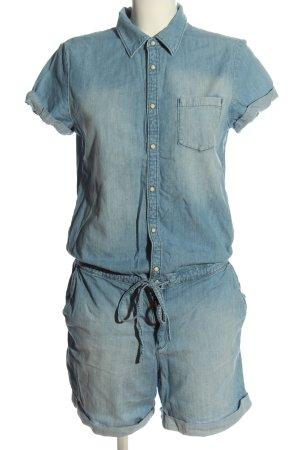 Esprit Kurzer Jumpsuit blau Casual-Look