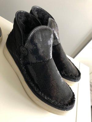 Esprit Lammfell boots Pailetten