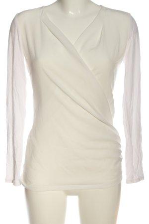 Esprit Langarm-Bluse weiß Casual-Look